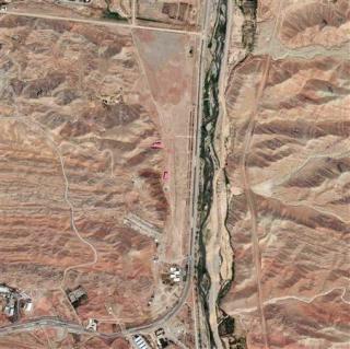 Военный объект в Parchin. Фото 22 августа 2012 года