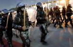 Иорданская полиция на охране общественного порядка