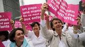 Демонстрация противников легализации однополых браков в Париже
