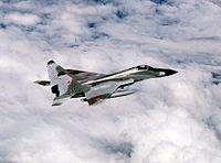 Фронтовой истребитель МиГ-29. У ВВС Ирана имеется 35 таких машин