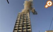Взрывы на местной станции Al-Aqsa TV в городе Газа (АР)