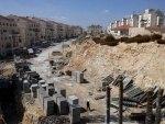 Строительство еврейского поселения Модиин-Илит на Западном берегу