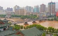 Город Ланчжоу. Фото:. ALAMY