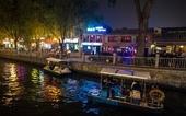 Бары и рестораны в районе Xicheng, Пекин, Китай. Photo: ALAMY