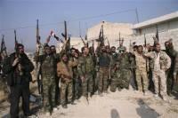 Сирийская армия в городе Сафира. 1 ноября 2013 года.