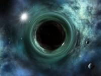 В черной дыре теория гравитация Альберта Эйнштейна явно сталкивается с квантовой физикой, но конфликт может быть решен, если Вселенная бы была голографической проекцией.  Впечатление художника Маркуса Ганна / Shutterstock