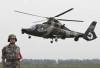 На фото военный вертолёт Z-9WZ китайского производства