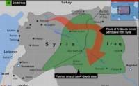 Зелёным обозначена территория, на которой аль-Каида планирует создать своё государство.