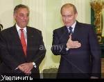 Президент Владимир Путин принимает Сэндфорда Вэйла (Sandford Weill), исполнительного председателя Citigroup transnational