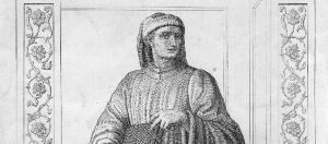 """Giovanni Boccaccio (1313-1376), итальянский автор """"Декамерона""""."""